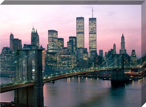 1980's Retro New York City Canvas Print