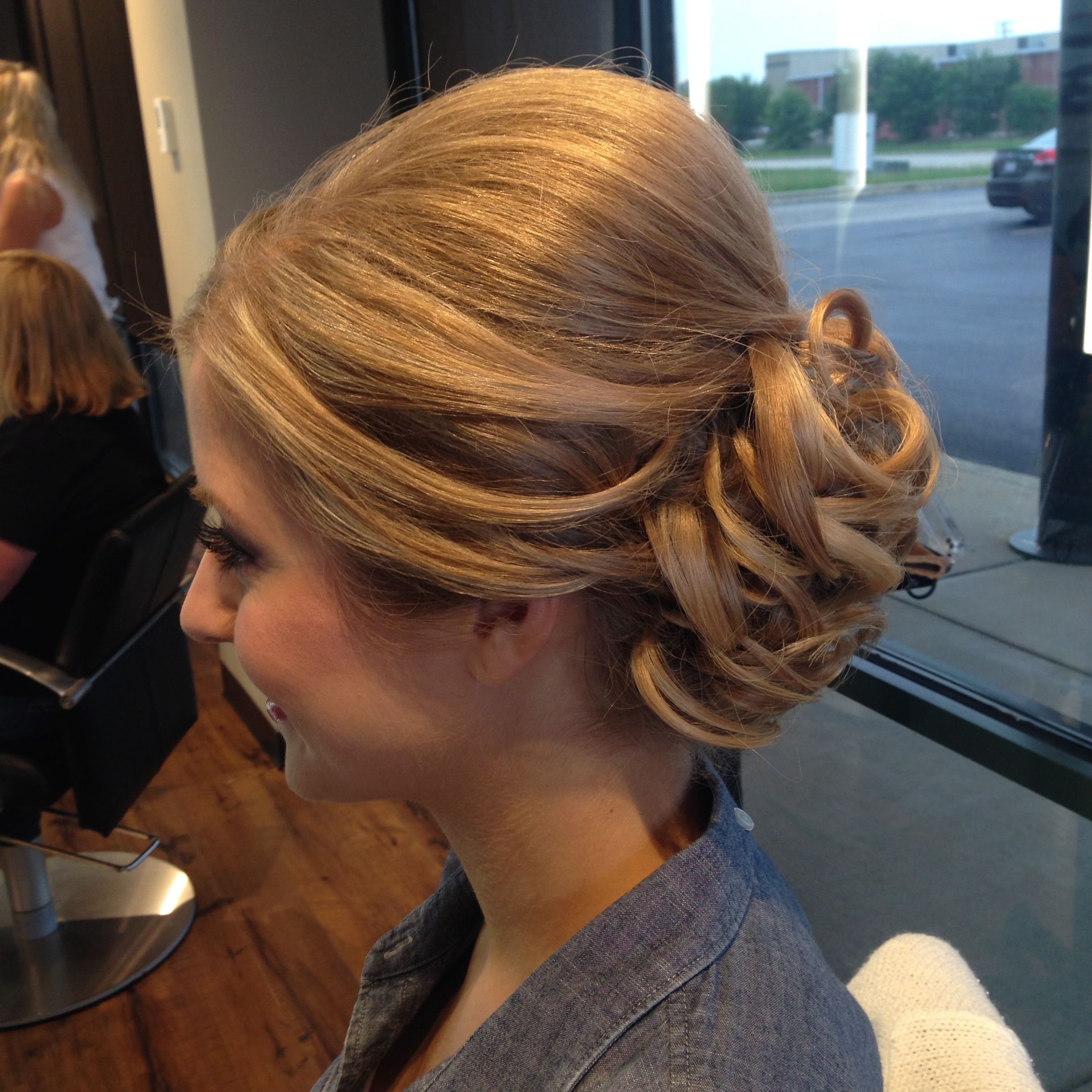 Bridal formal style by artistic director stefanie hairstyles by