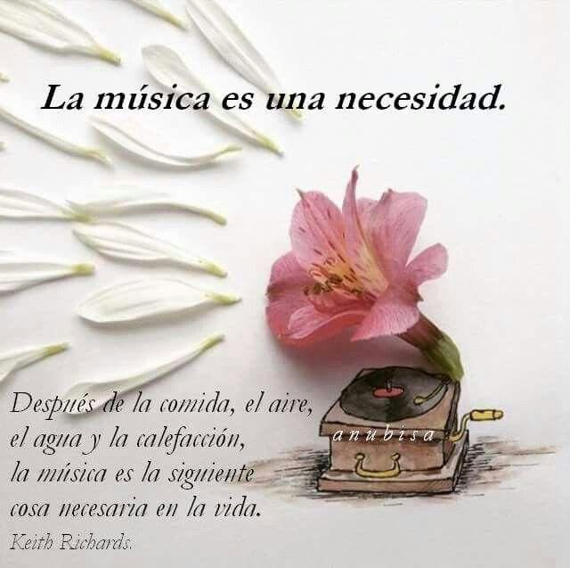 La música es una necesidad