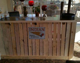 Pallet Bar / Tiki Bar / Margarita Bar Weekend Sale The | Criativo ...