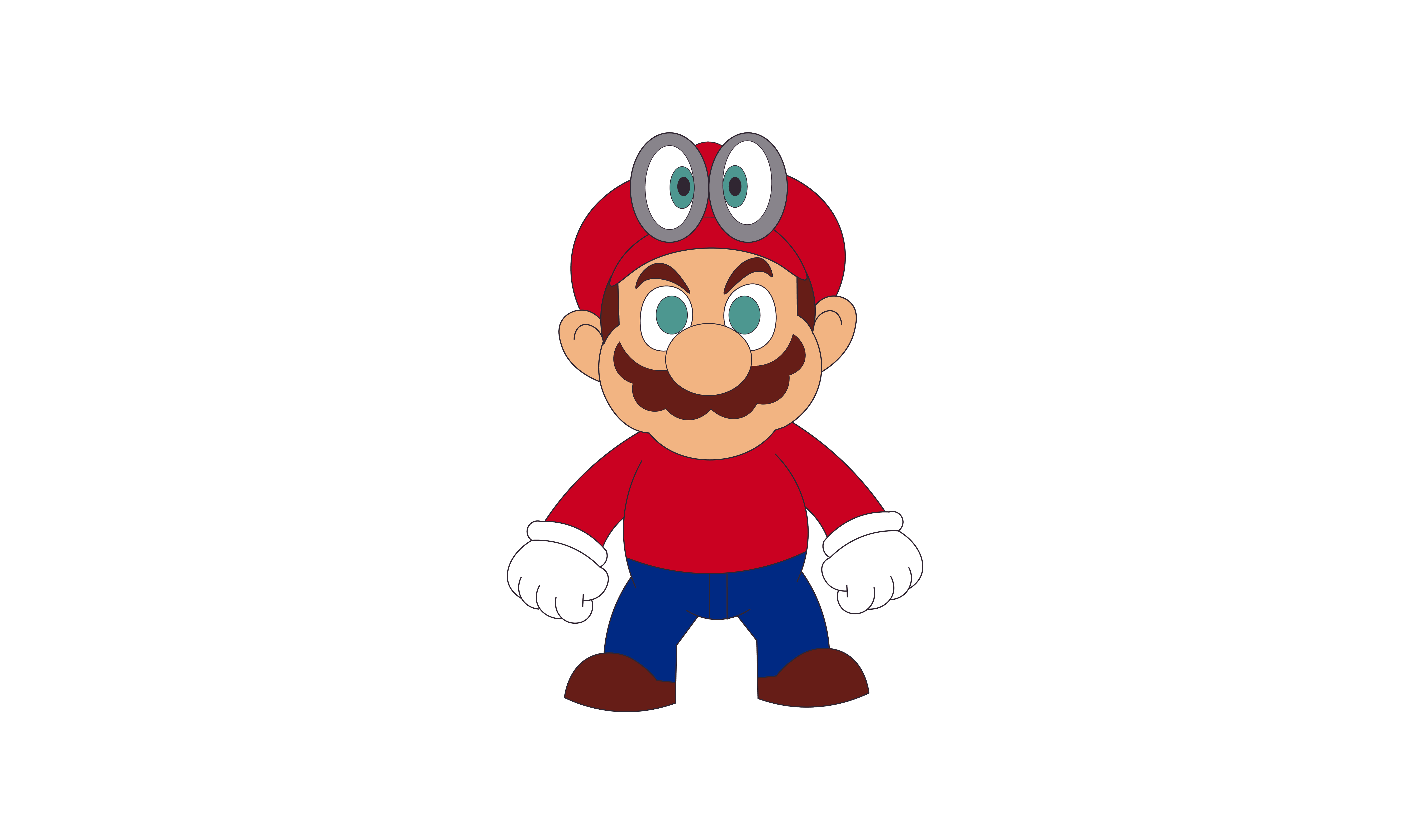 How To Draw Super Mario Odyssey Https Youtu Be Nf 9d4g0r4a Mario Characters Mario Drawings