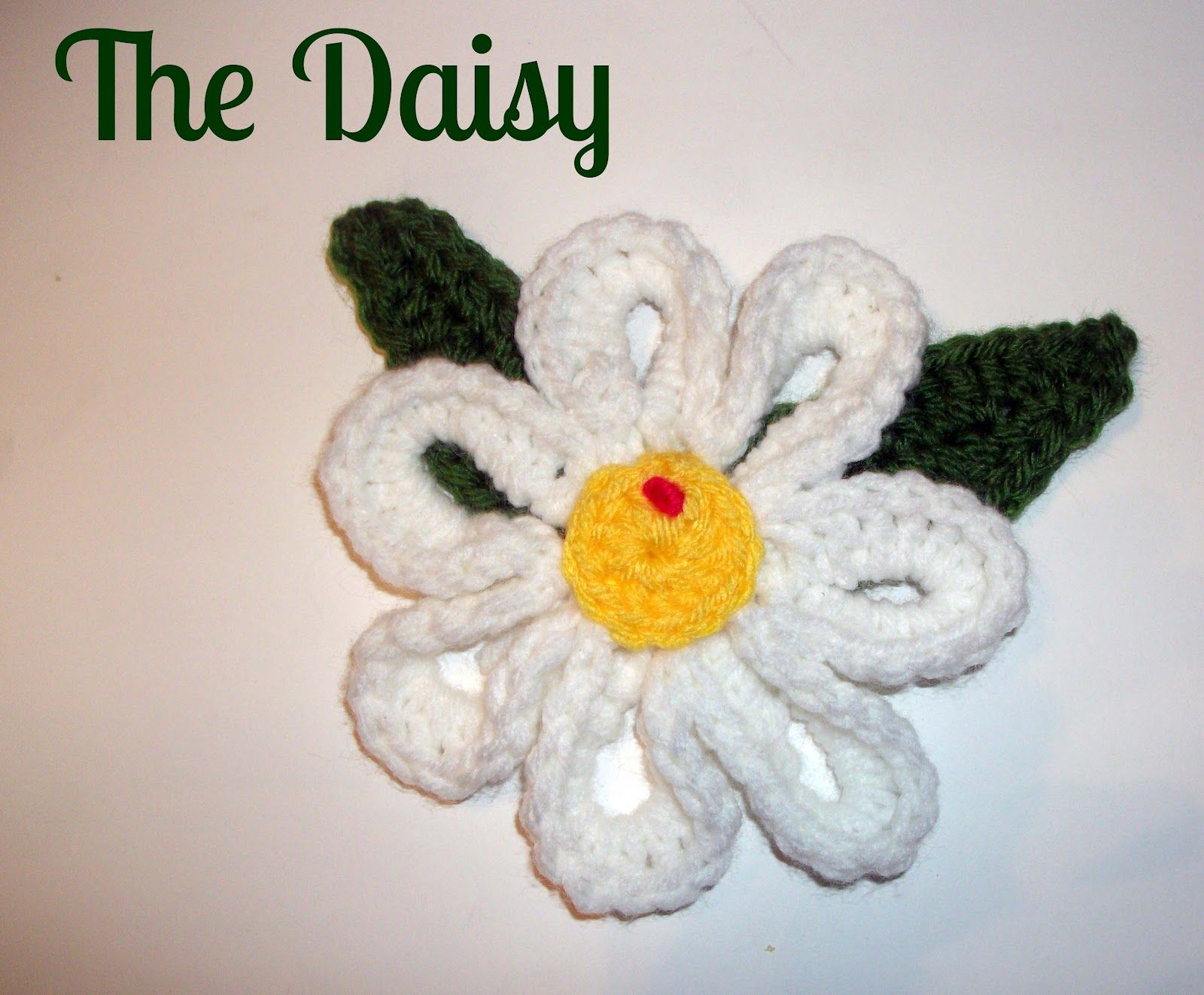 MelodyCrochet: My Big Daisy - Crochet  ~ free pattern