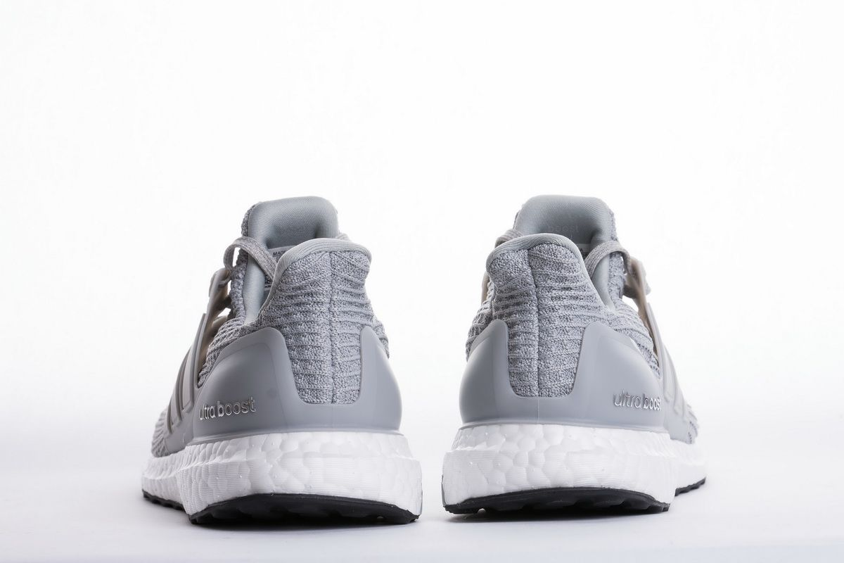 """72c4a6dfbb0c Adidas Ultra Boost 4.0 """"Light Grey"""" BB6167 Real Boost6 Nike Sneakers"""
