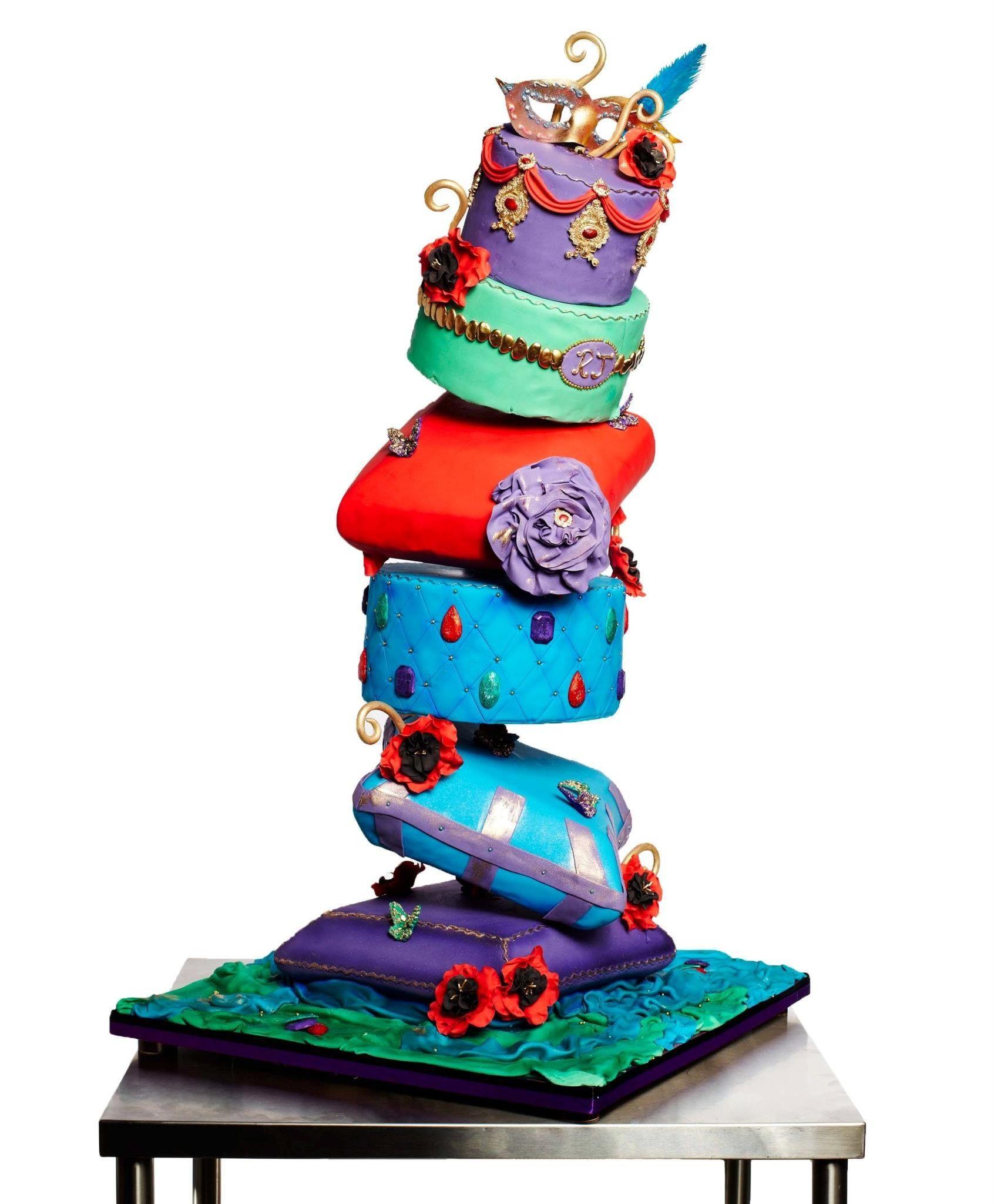 www.Whimsicalweddingcakes.com Cake Walk