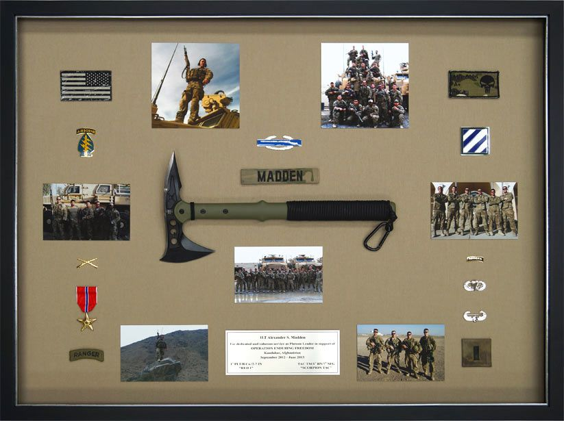 Gallery Custom Framed Military Prints And Photos Military Shadow Box Shadow Box Large Shadow Box