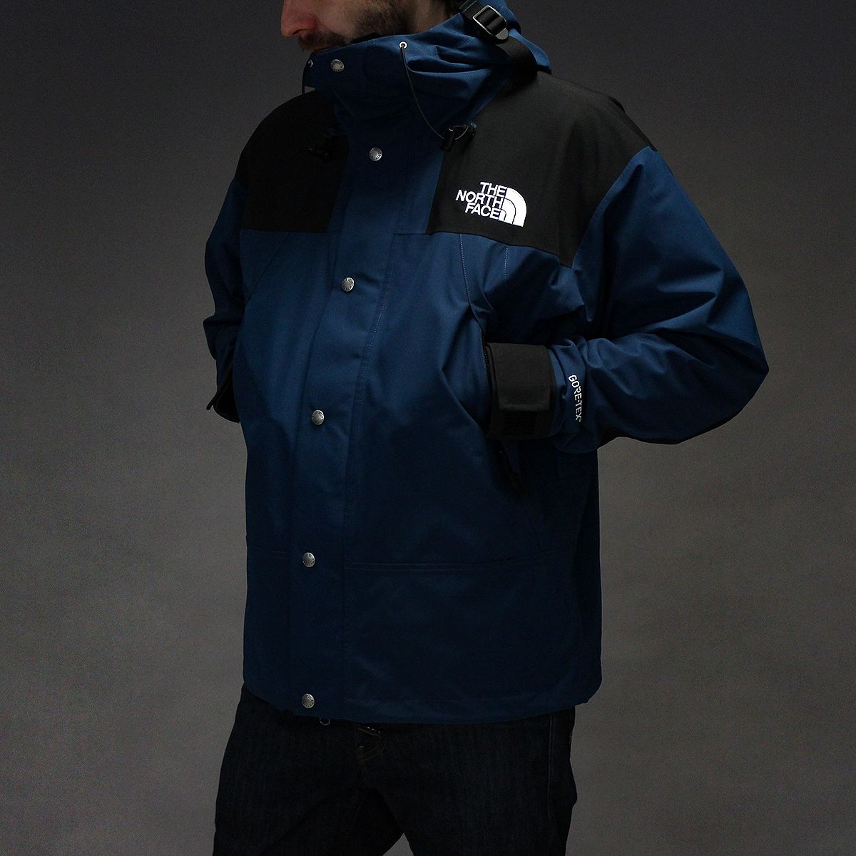 THE NORTH FACE 1990 MOUNTAIN GTX JACKET BLUE WING TEAL