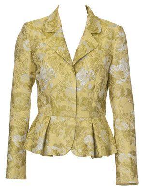 Schnittmuster damenjacke sch chen jacquard blazer damen burda style nr 120 032011 - Festliche blazer ...