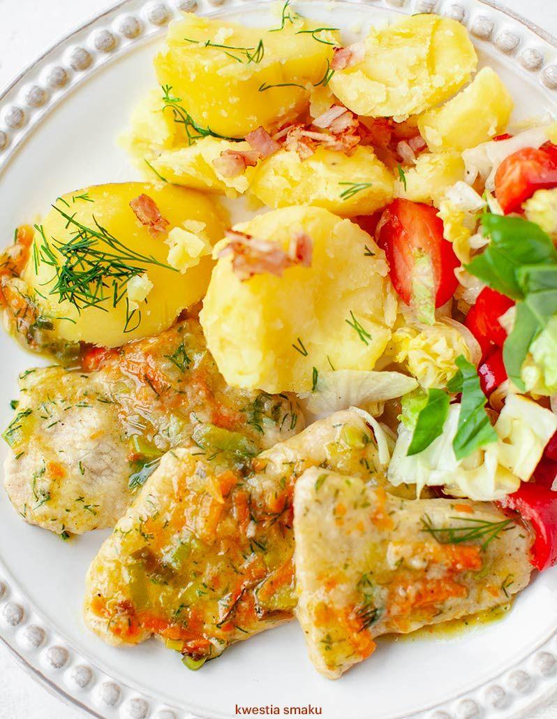 Filety Drobiowe W Lekkim Sosie Koperkowym Kwestia Smaku Culinary Recipes Food Dinner