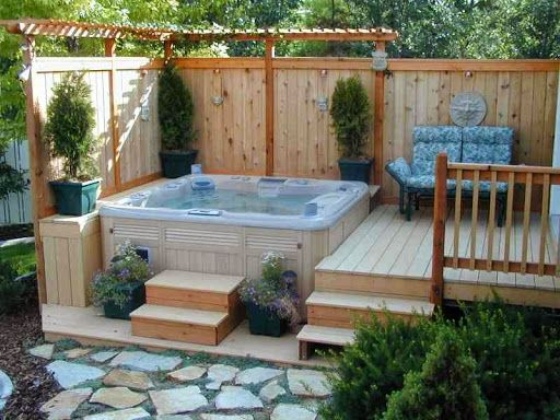50 Relaxing And Dreamy Outdoor Hot Tubs Hot Tub Garden Hot Tub