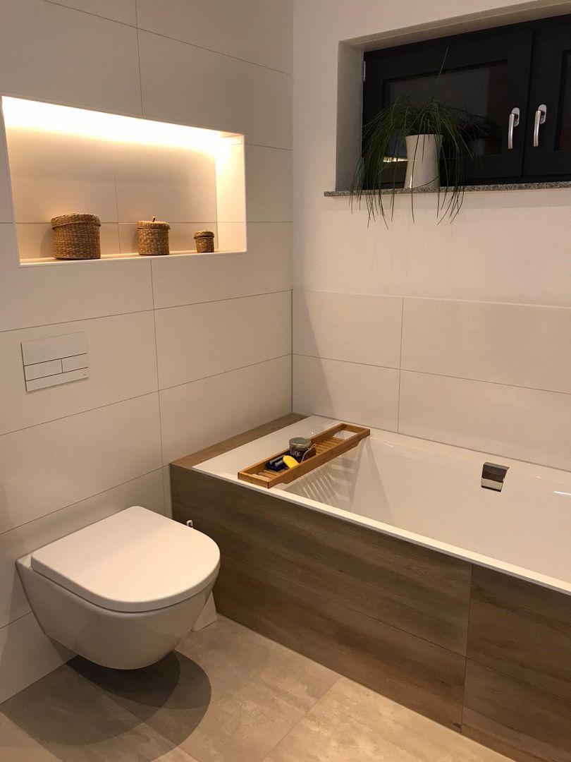 Gemutliches Badezimmer Kleine Wellnessoase Fliesen Concrete Holz Optik Keramik Wan In 2020 Gemutliches Badezimmer Badezimmer Renovieren Badezimmer Einrichtung