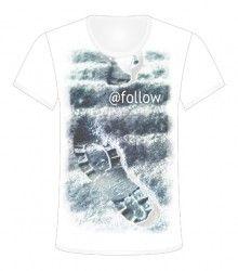 """HASHTAG FOLLOW"", Be a Talent #WORMLAND T-Shirt Design Contest http://www.wormland.de/contest/de/"