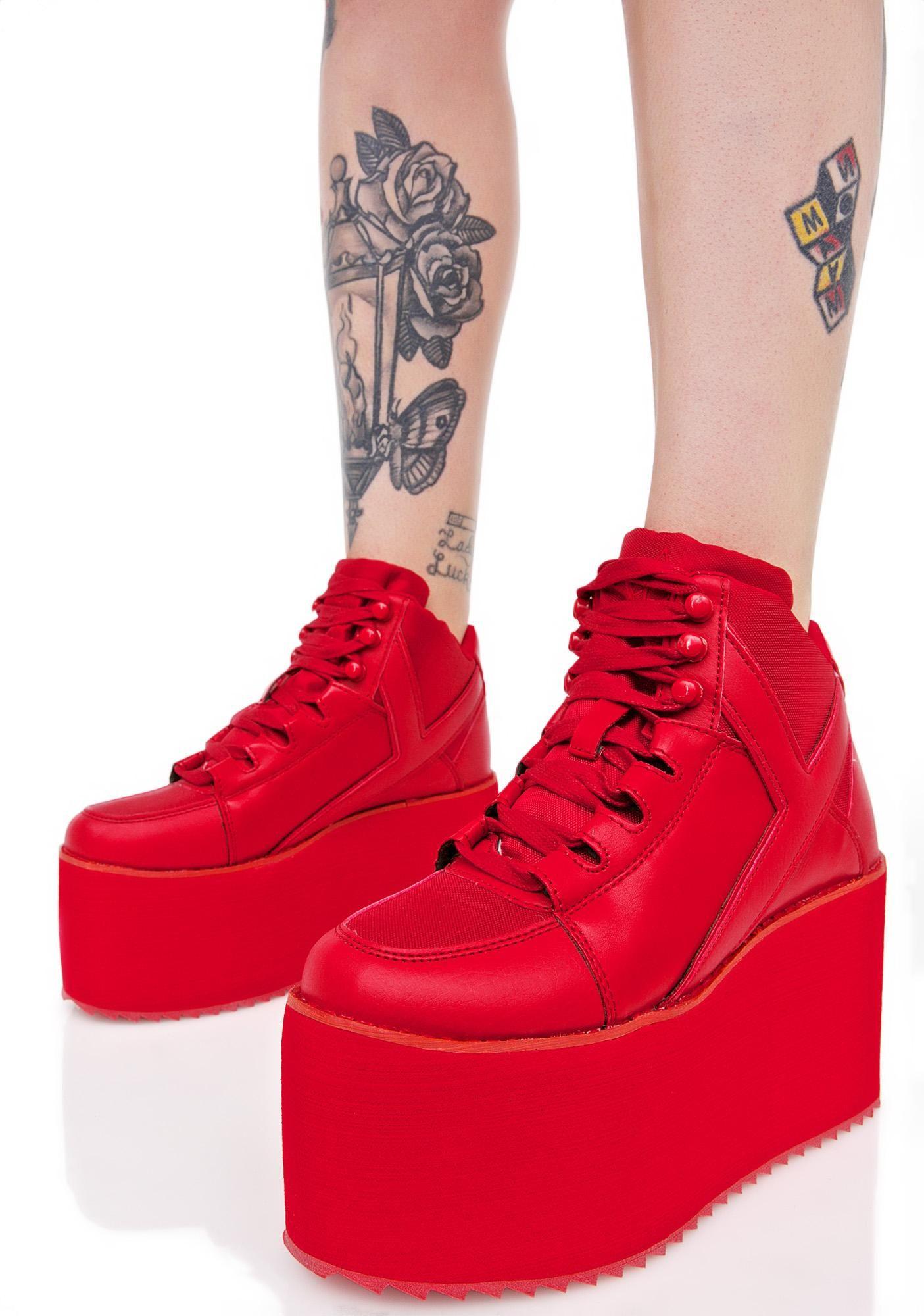 Redd Hot Qozmo Platform Sneakers