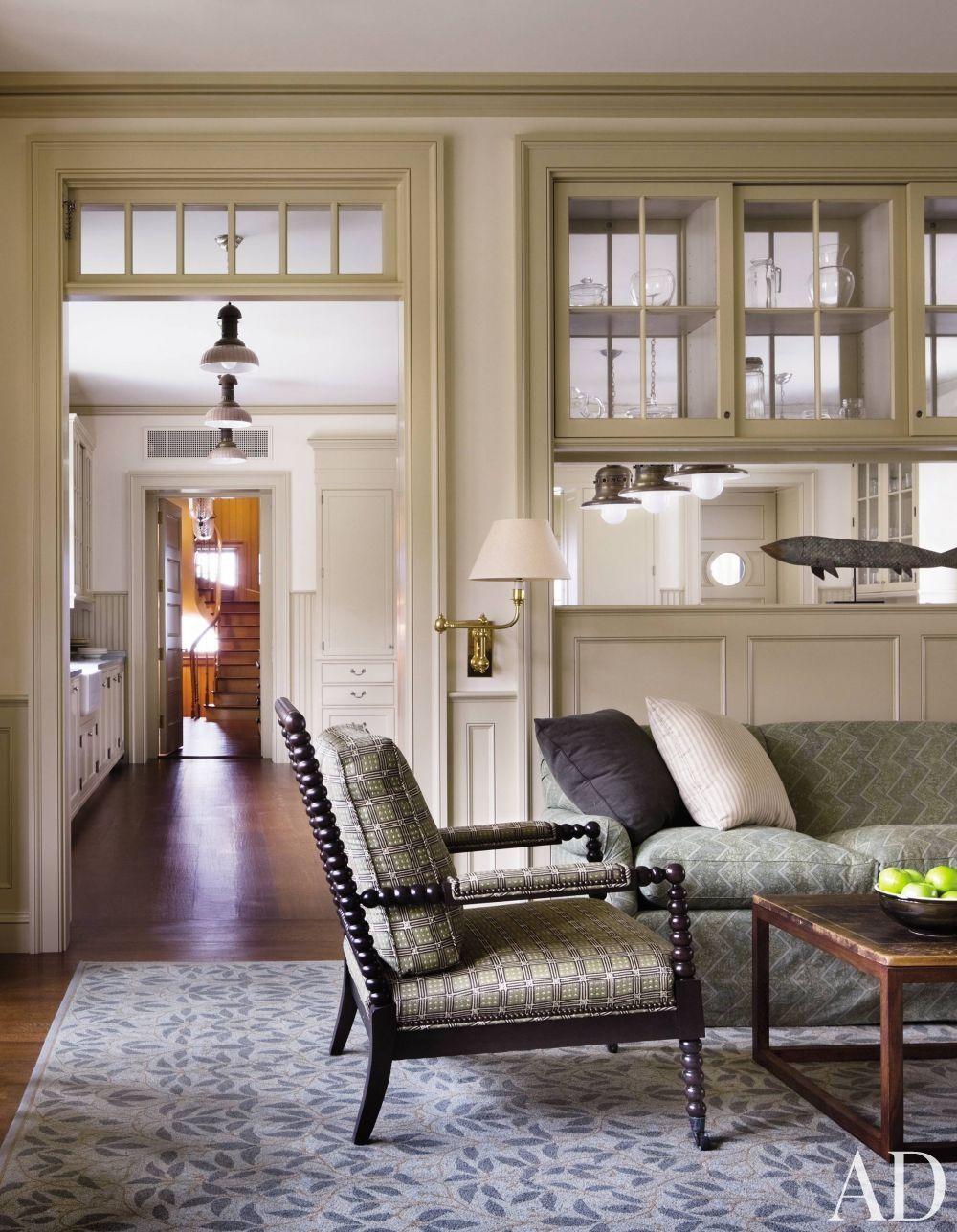 Beach Living Room By Victoria Hagan Interiors Via Archdigest Designfile Beach Living Room Classic House Home Decor
