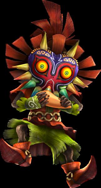 File Hwl Skull Kid Ocarina Artwork Png A Lenda De Zelda Zelda Personagens De Rpg