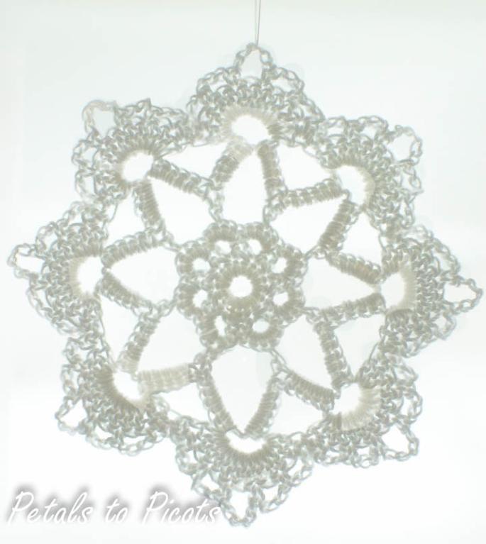 Grandma Jennies Snowflake Part 2 Manualidades Crochet
