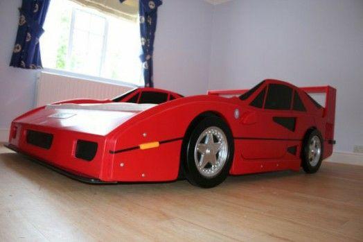 Kinderzimmer gestalten junge auto  Kinderzimmer gestalten – 20 Kinderbetten für coole Jungs wie Autos ...