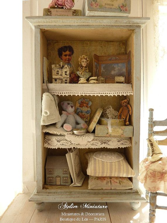 VICTORIAN Baby Crib  Dollhouse miniature 1:12 WN Wood SALE