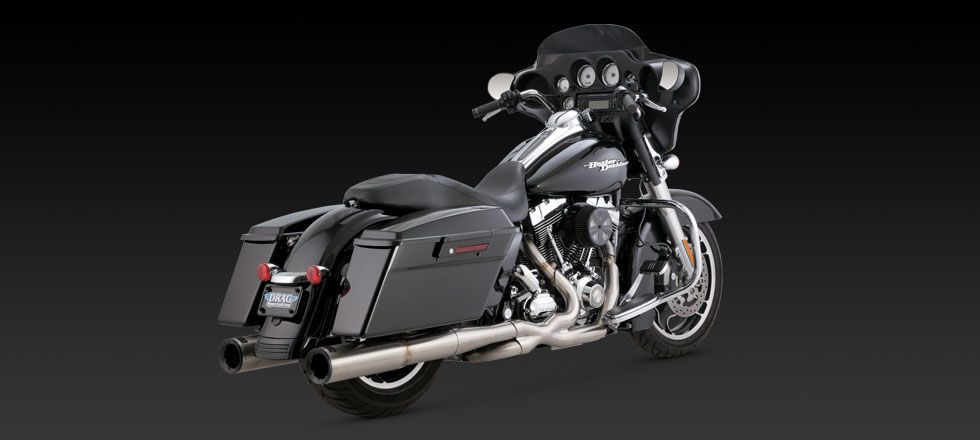 STAINLESS HIOUTPUT DUALS Vance & Hines Performance