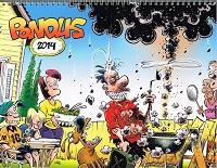 Pondus wall calendar 2014 (Tronsmo)