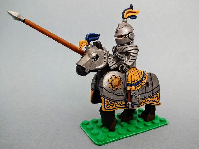 Custom LEGO Minifigure of the Week - Imperial Knight by Steve Cady