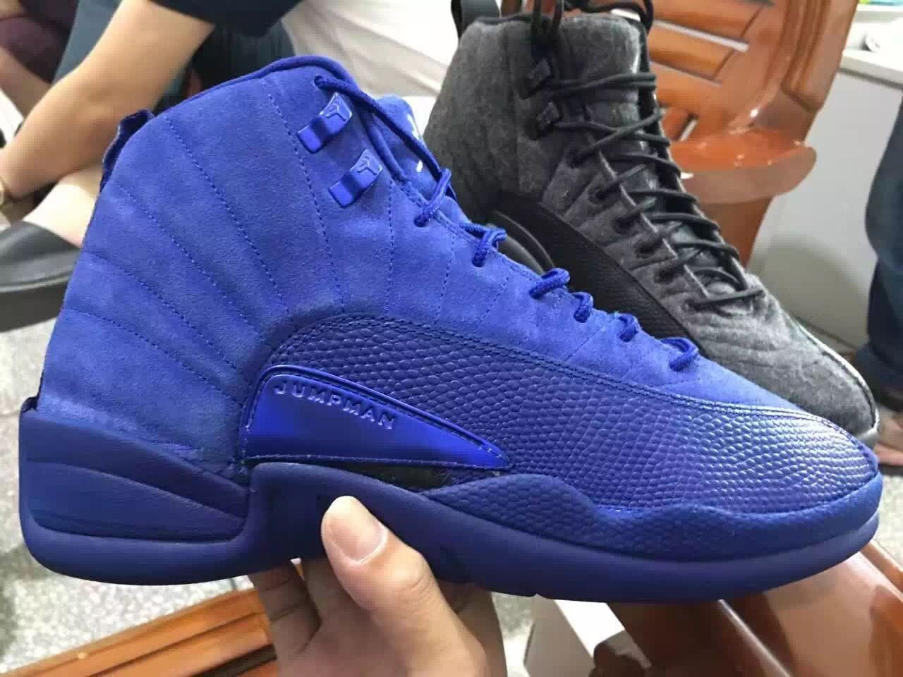 f18c0533636009 More Images Of The Premium Air Jordan 12 Deep Royal Blue