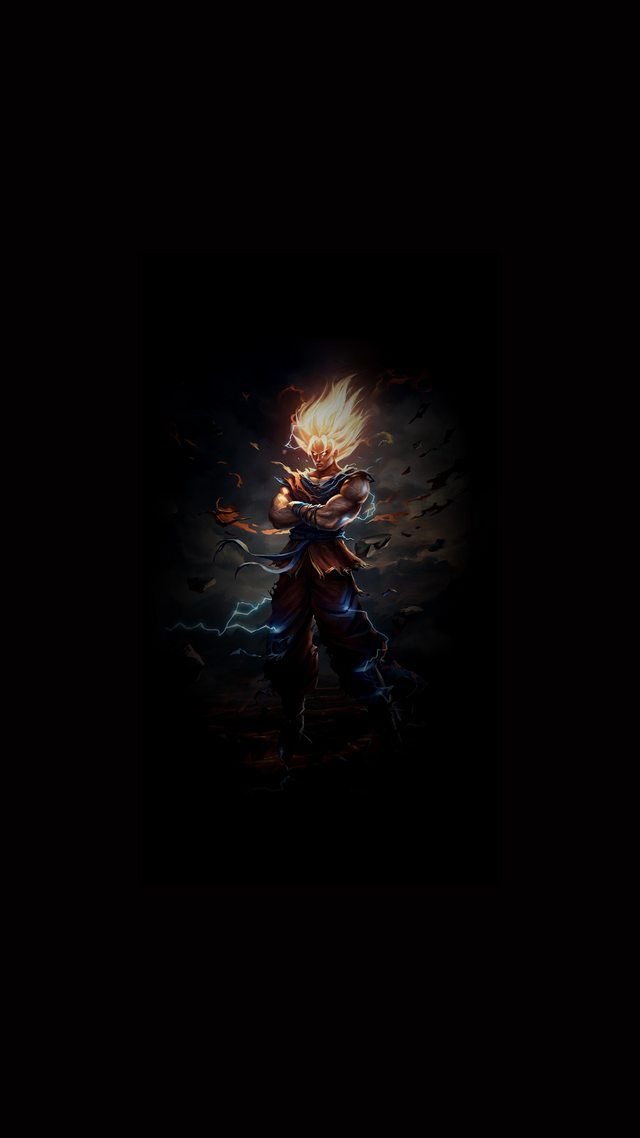 Dbz2 Amoled 1080x1920 Goku Wallpaper Dbz Wallpapers Anime Wallpaper Phone
