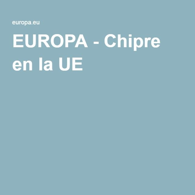 EUROPA - Chipre en la UE
