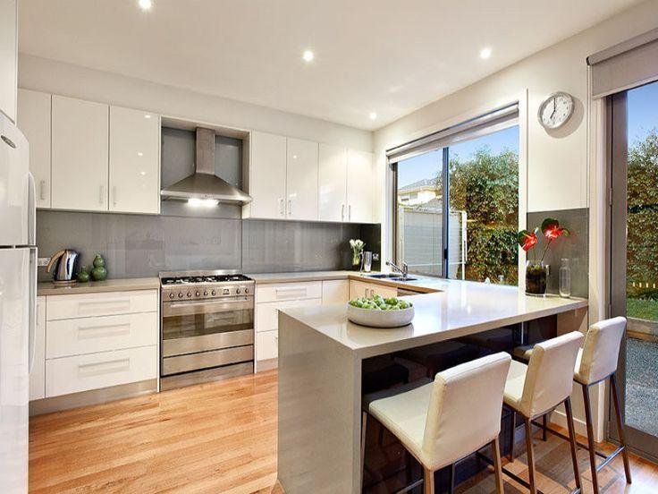 Image Result For U Shape Townhouse Kitchen Design Kitchen