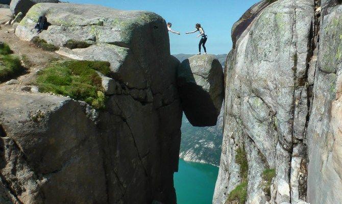 Kjeragbolten Norvegia
