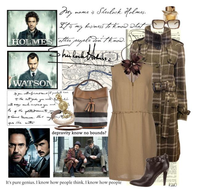 """"""""""" Love"""" this Cheeky Rendition of Sherlock Holmes !!"""" by kateo ❤ liked on Polyvore"""