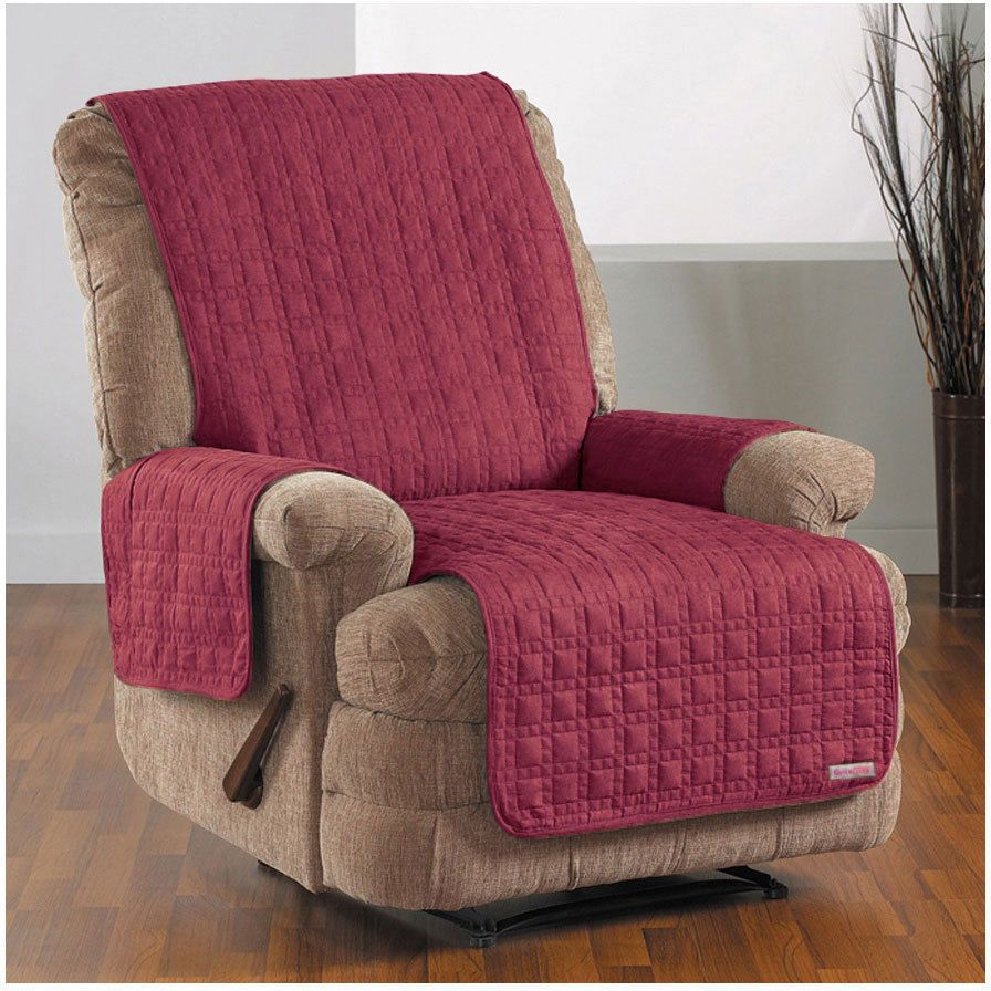 Quickcover studio sized waterproof recliner chaise for Chaise cushion slipcover
