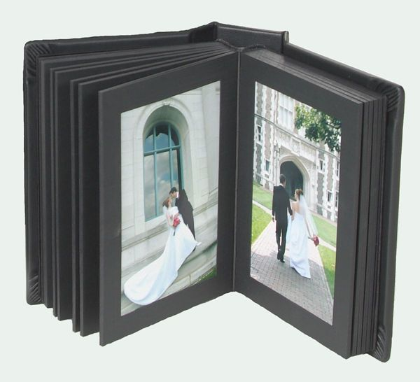 Professional Photo Album 8x10 Genuine Leather 12 Pages Slip In Our