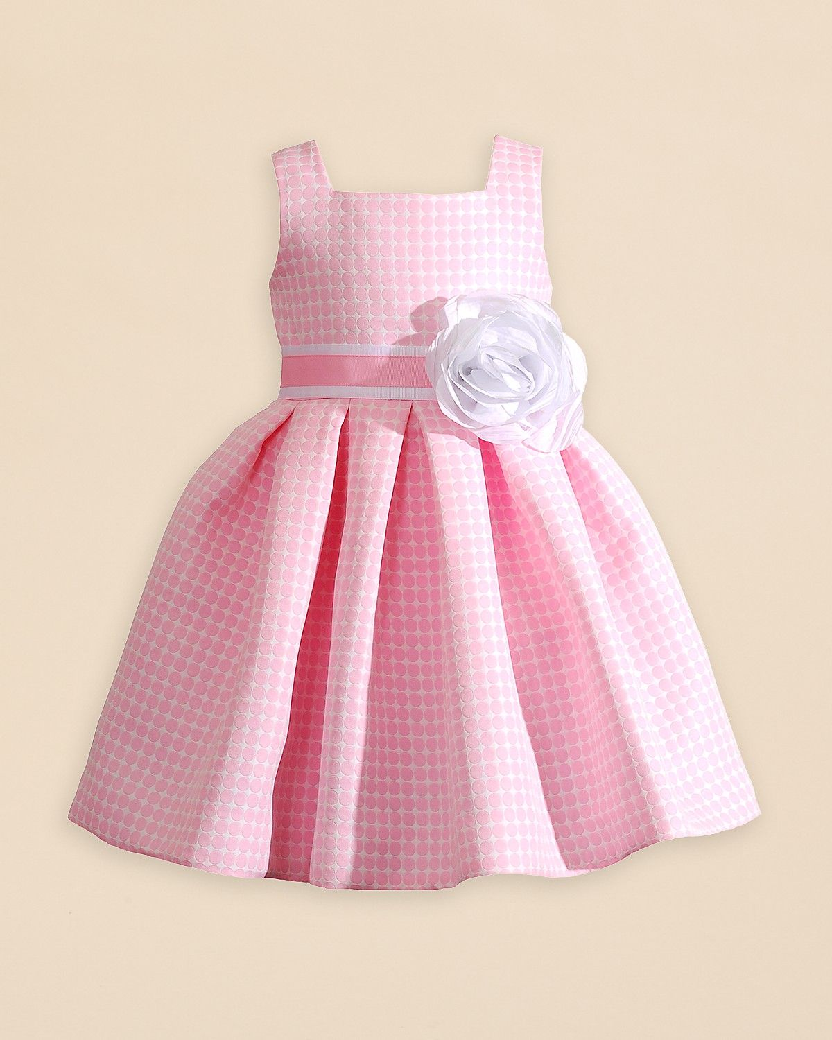 a34ee5f1ef8 Kleinfeld Pink Girls  Amanda Gingham Dress - Sizes 4-6X ...