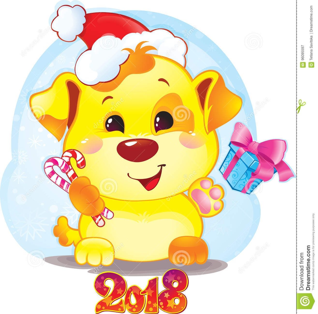 risultati immagini per new year 2018 images cartoon
