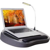#HolidayGiftGuide 2014: Sofia & Sam Deluxe Memory Foam Lap Desk with USB Light #office #computers #reviewwireguide
