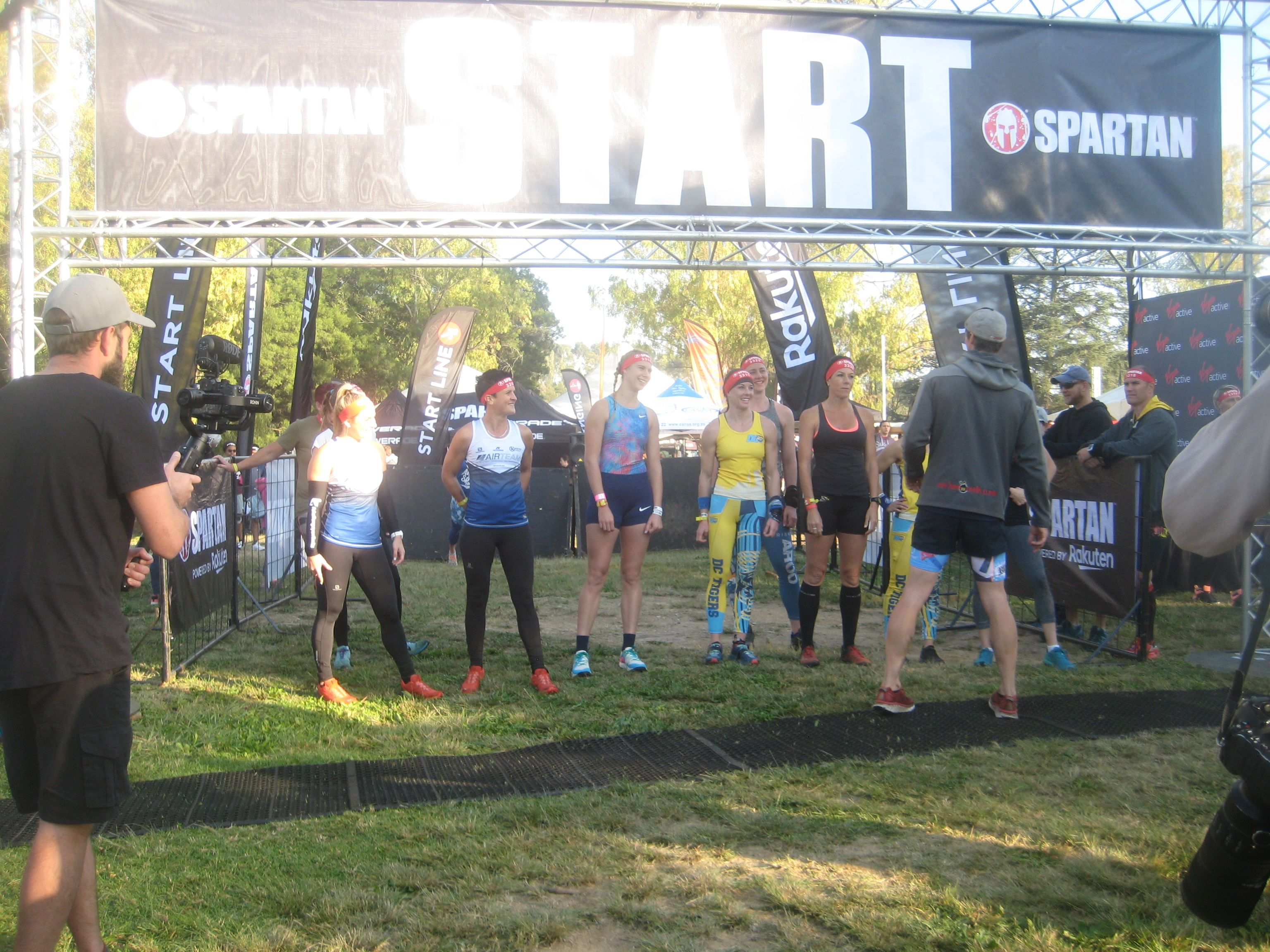 Iron Lady 6 Km Obstacle Run At The Golden Harvest Park Swimming