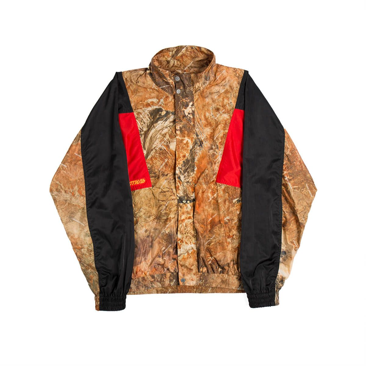 Camo tracksuit jacket from the SS2019 Heron Preston
