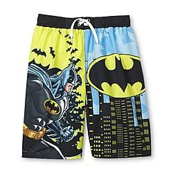 8921356b27 DC Comics Batman Boy's Swim Trunks | Kids Fashion And More | Swim ...