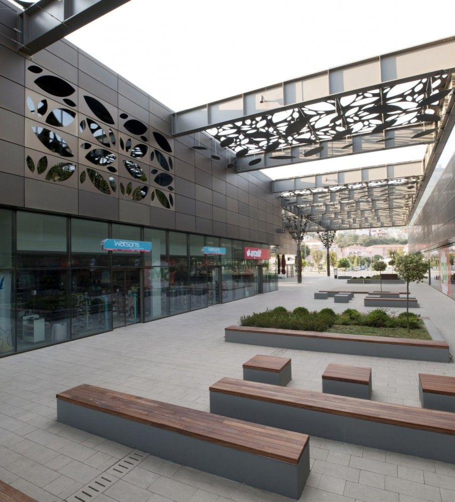 Asmacati shopping center tabanlioglu architects for Landscape design center
