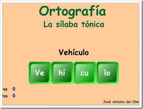 Sílaba Tónica Y átona Silabas Tonicas Y Atonas Silabas Tonica Silabas