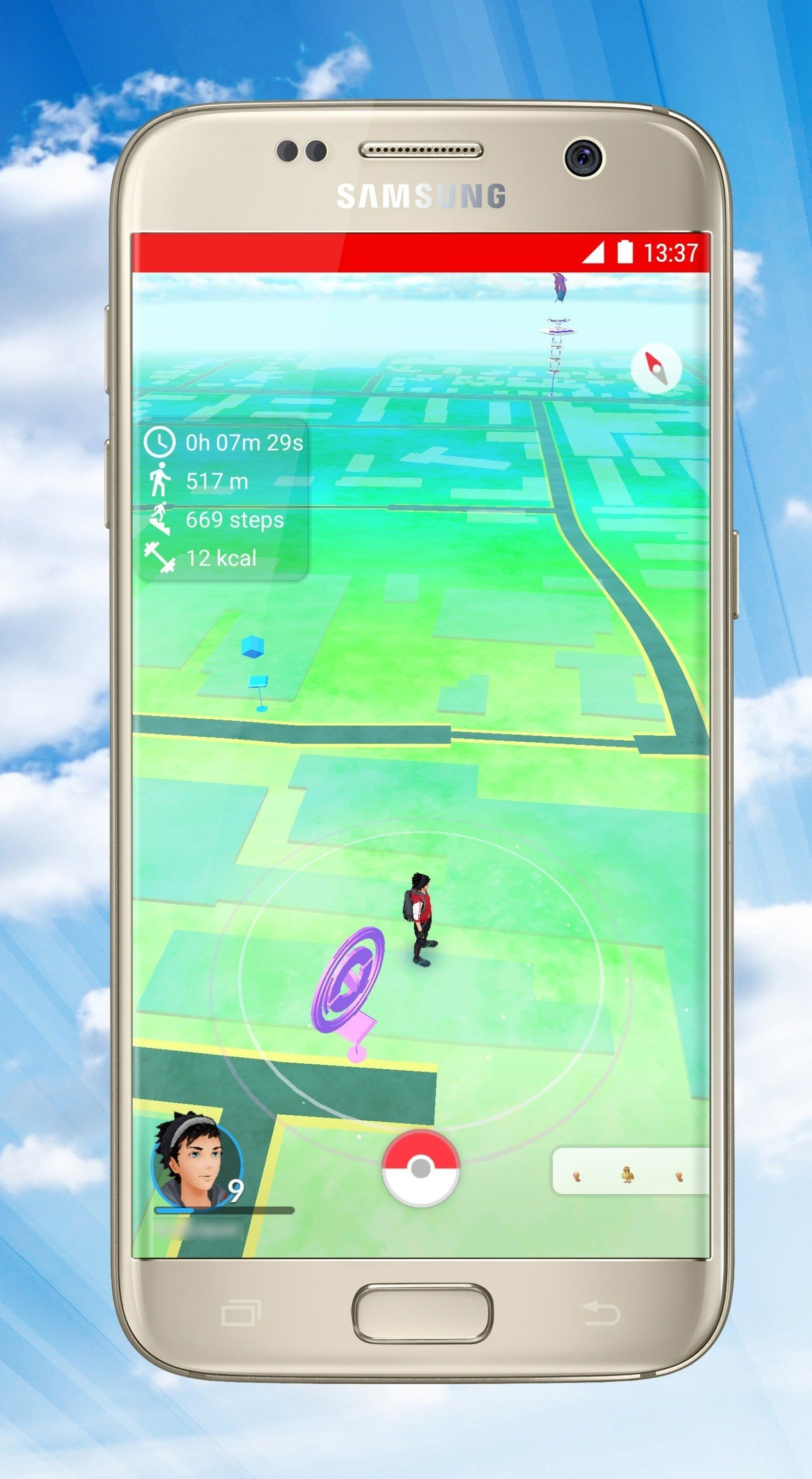 PokeFit is the fitness tracking app for Pokémon Go players