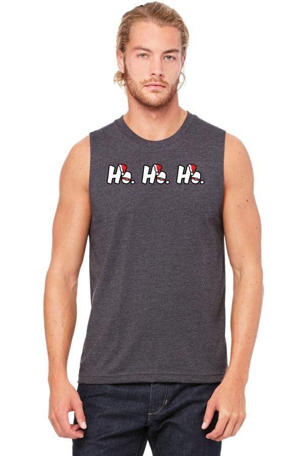 ho ho ho 1 Muscle Tank