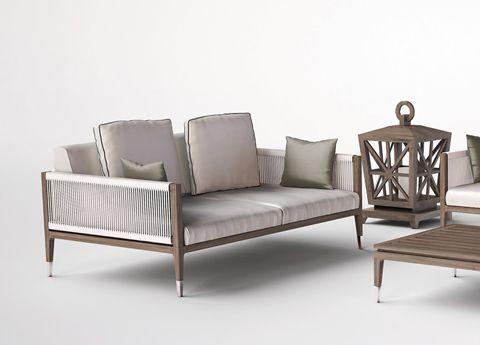 Smania Amalfi Garden Sofa | 庭院 露台 | Pinterest