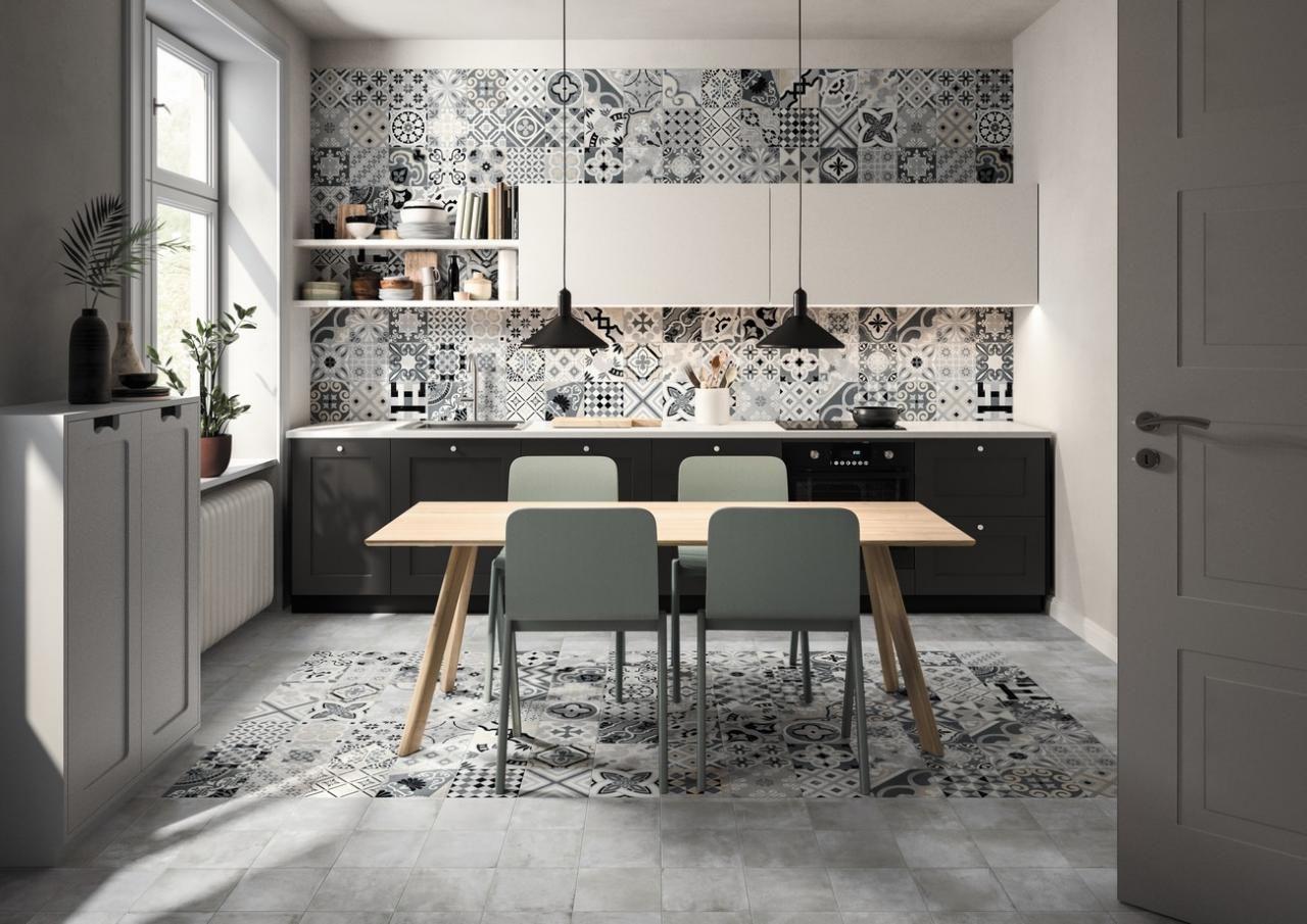 Opus La Serie De Carrelage Effet Ciment Tanguy En 2020 Designs De Petite Cuisine Decoration Maison Deco Maison