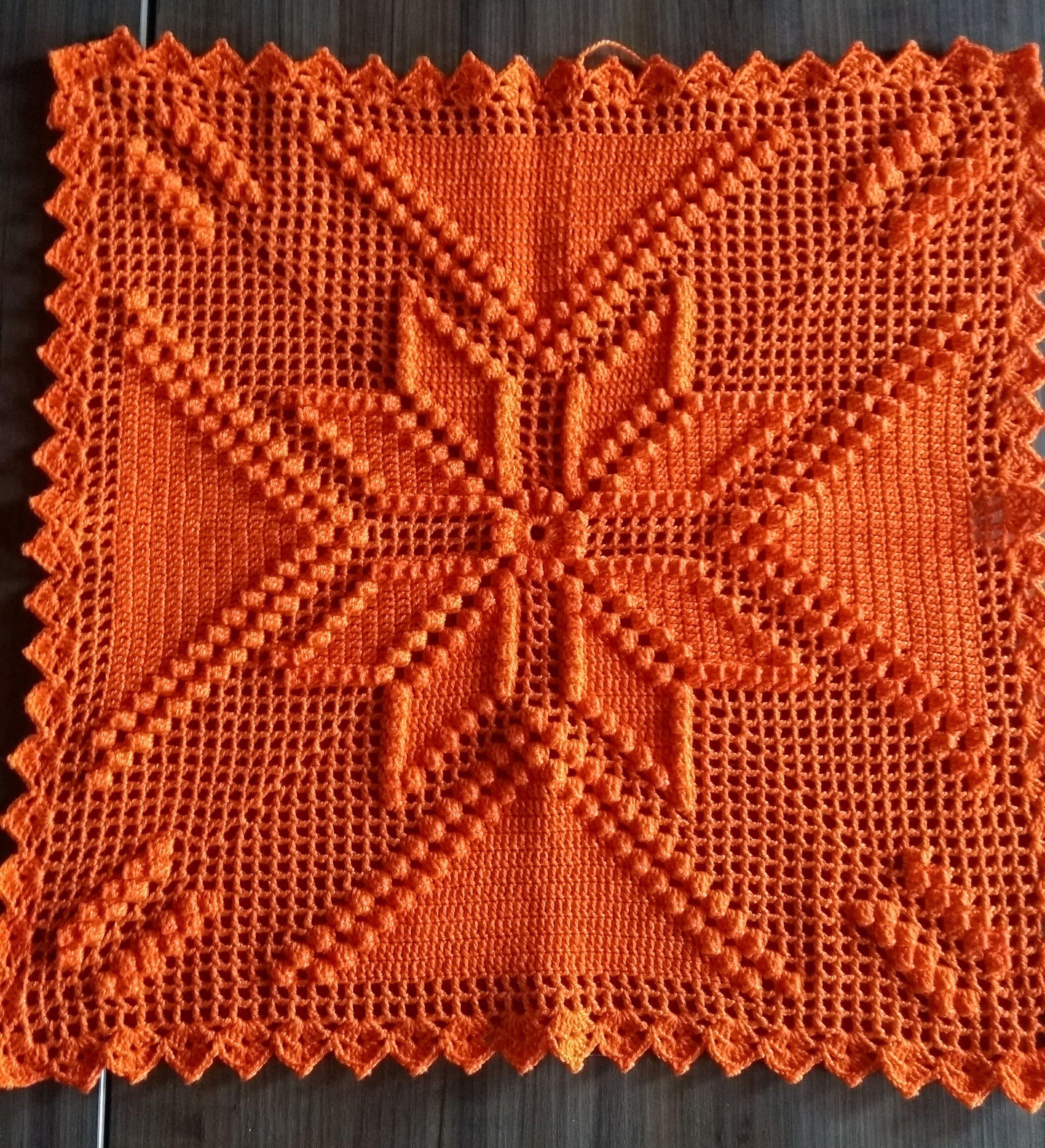 Frente De Almofada Linha Anne Com Imagens Almofada De Croche