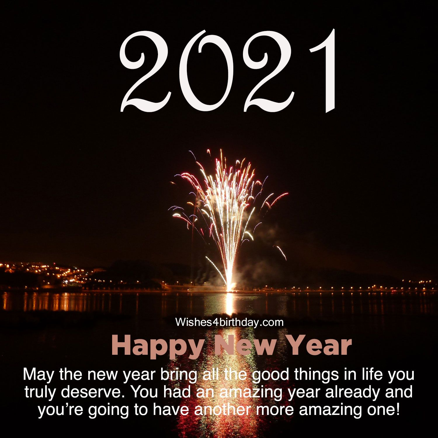 Top Attractive and Happy new year 2021 pictures with