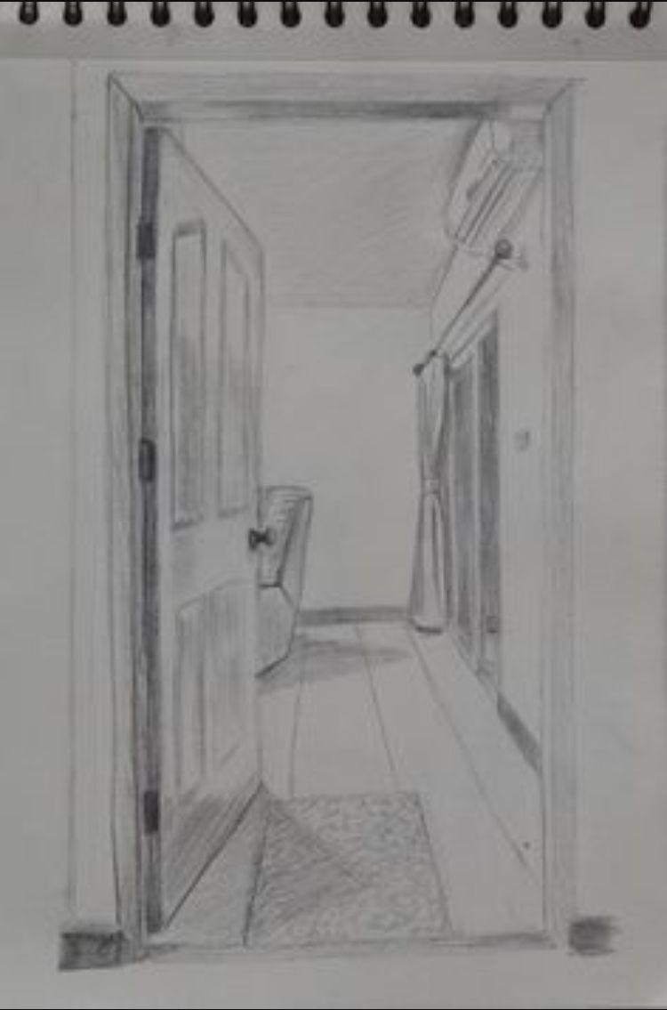 open door drawing clipart open door drawing 1116 perspective sick frames culture dibujo art insperation pinterest drawings