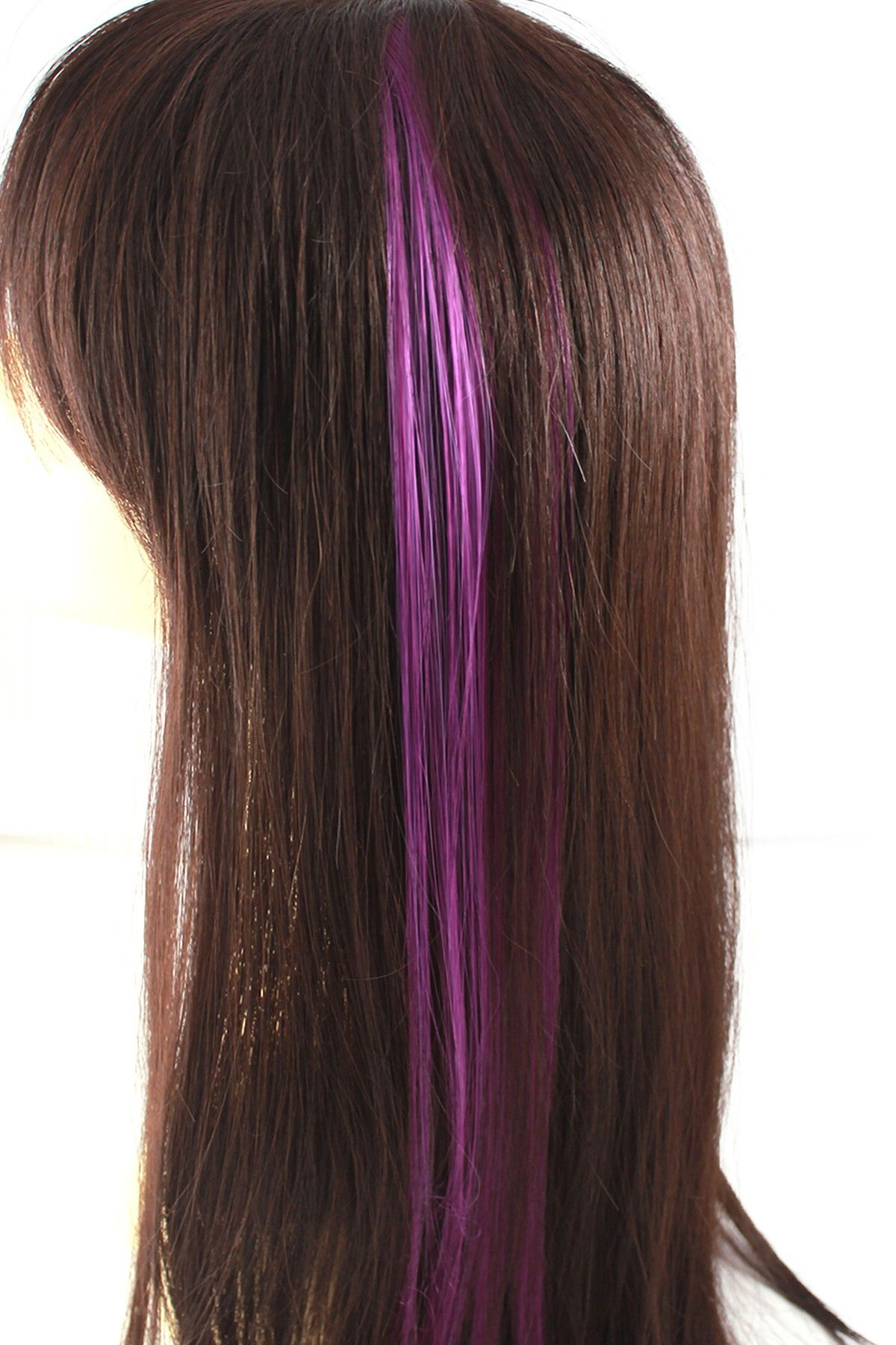Celebrity Strands 2 Pack Clip Hair Extension Purple Hautelook Hair Extension Pieces Clip In Hair Extensions Hair