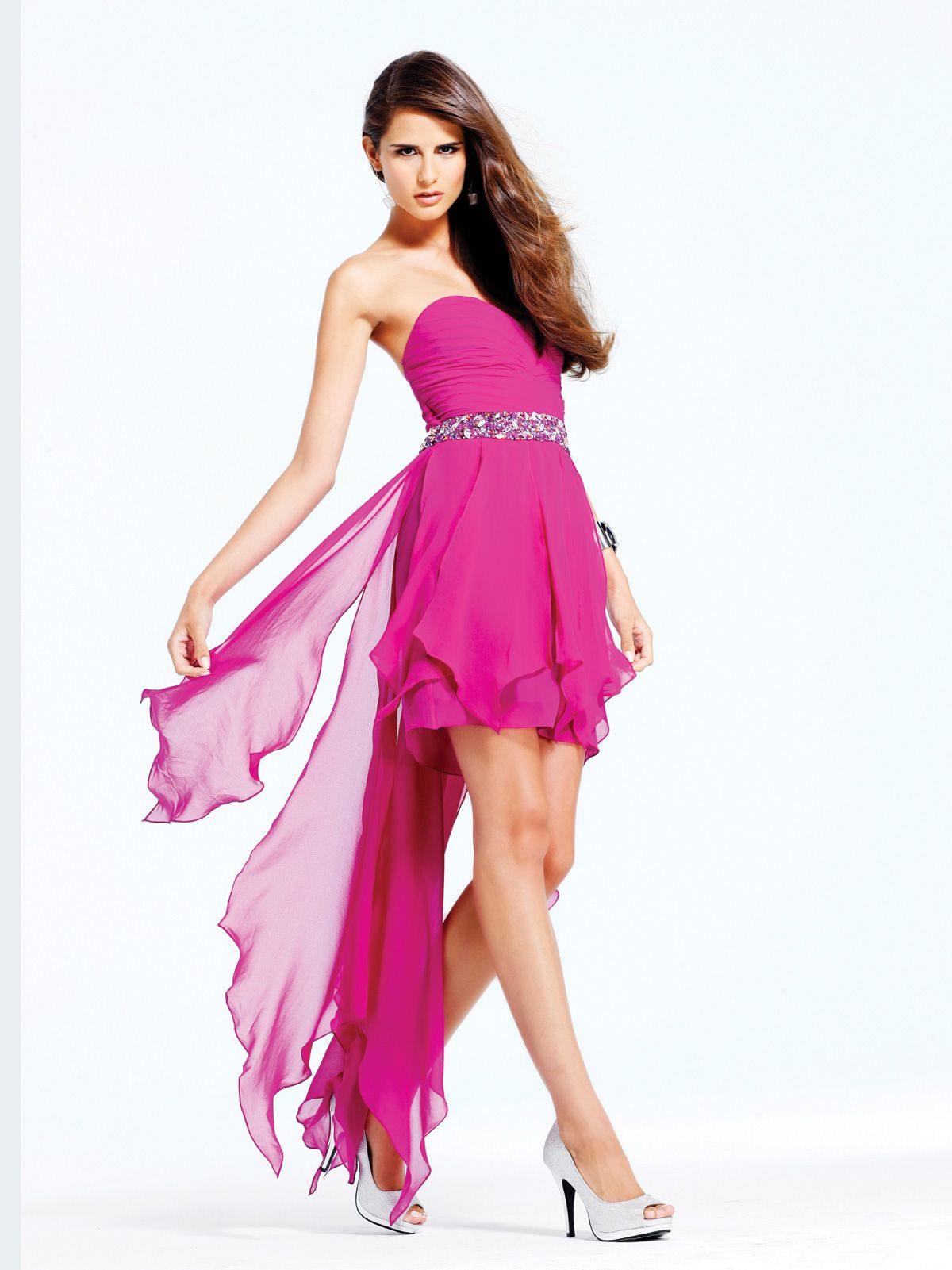 Ethereal chiffon evening prom dress faviana thanks to