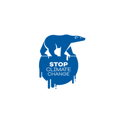 Stop Climate Change Logo Design Climate Change Art Change Logo